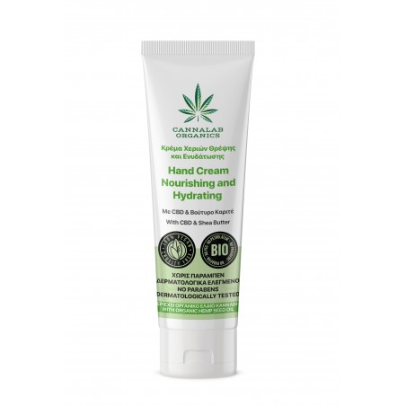 Nourishing and Hydrating Hand Cream With CBD & Shea Butter